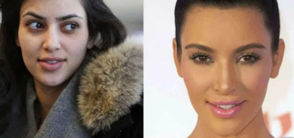 O rosto de 26 celebridades sem maquiagem