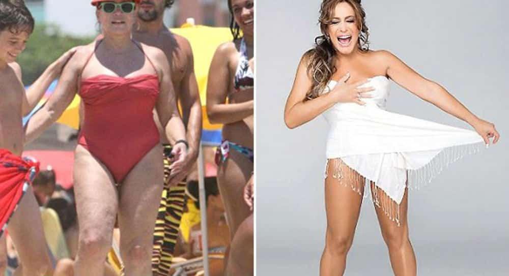 Antes e depois de 12 famosos editados no Photoshop