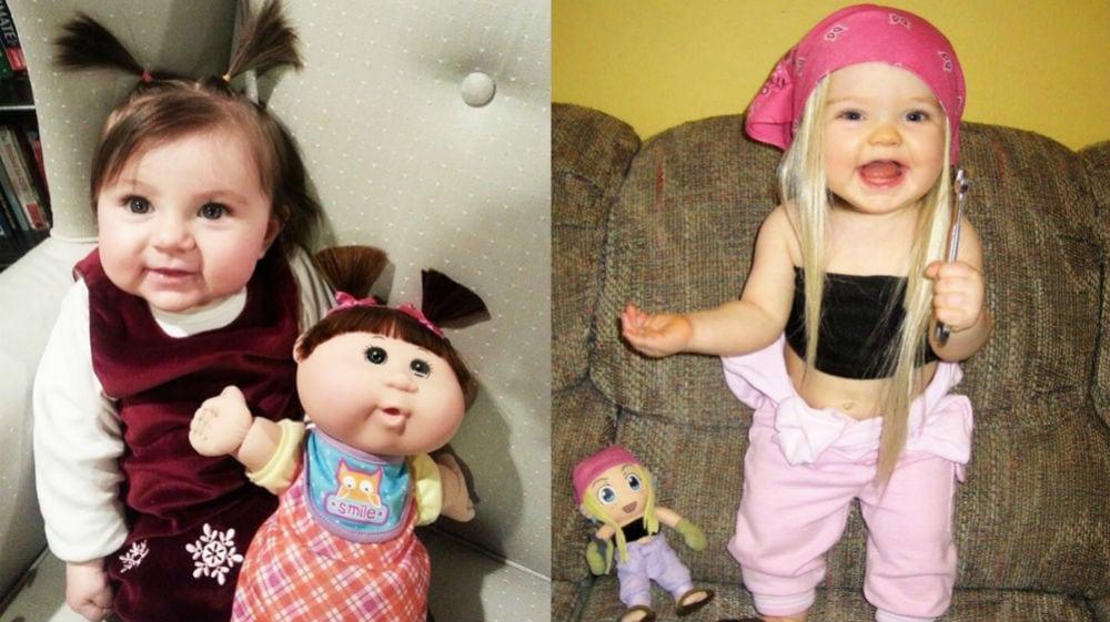 Fofura! 20 meninas idênticas às suas bonecas