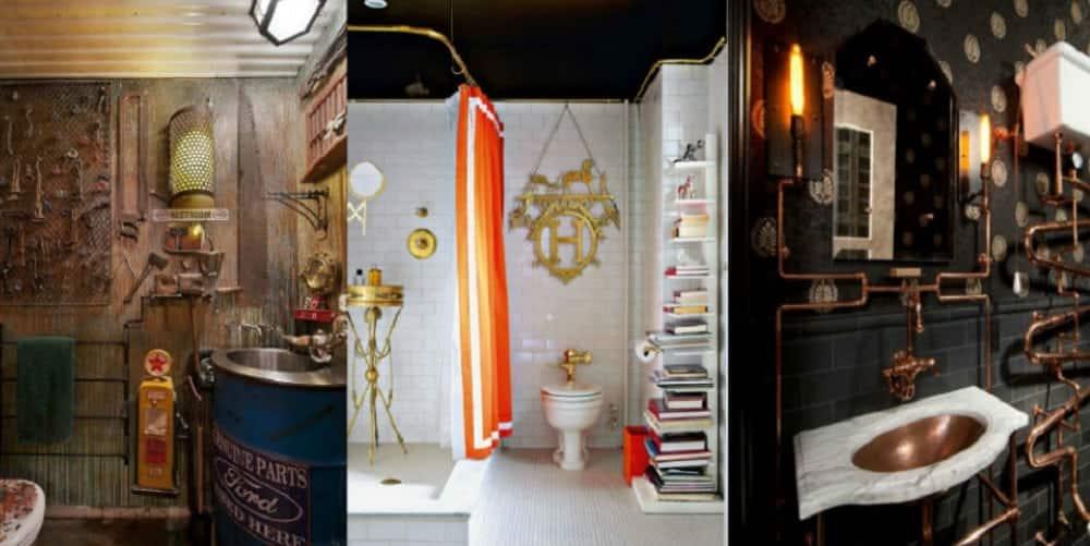 20 banheiros criativos para inspirar sua casa