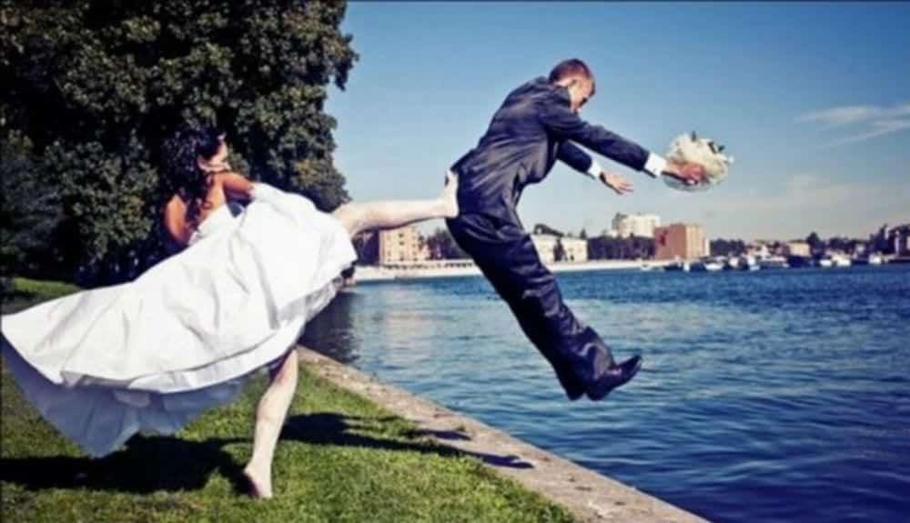 20 fotos de casamento que ficaram muito bizarras