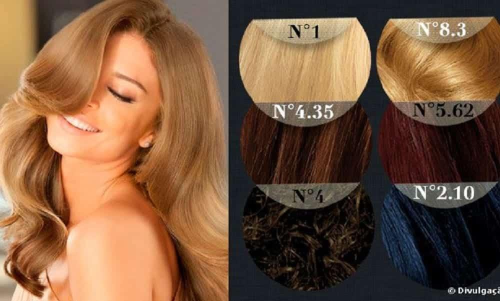 Como entender a numeração das tintas de cabelo?