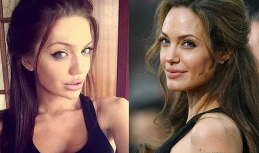 Conheça a sósia escocesa de Angelina Jolie