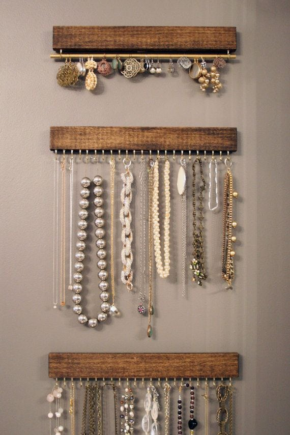 Best 25 Necklace storage ideas on Pinterest Necklace hanger