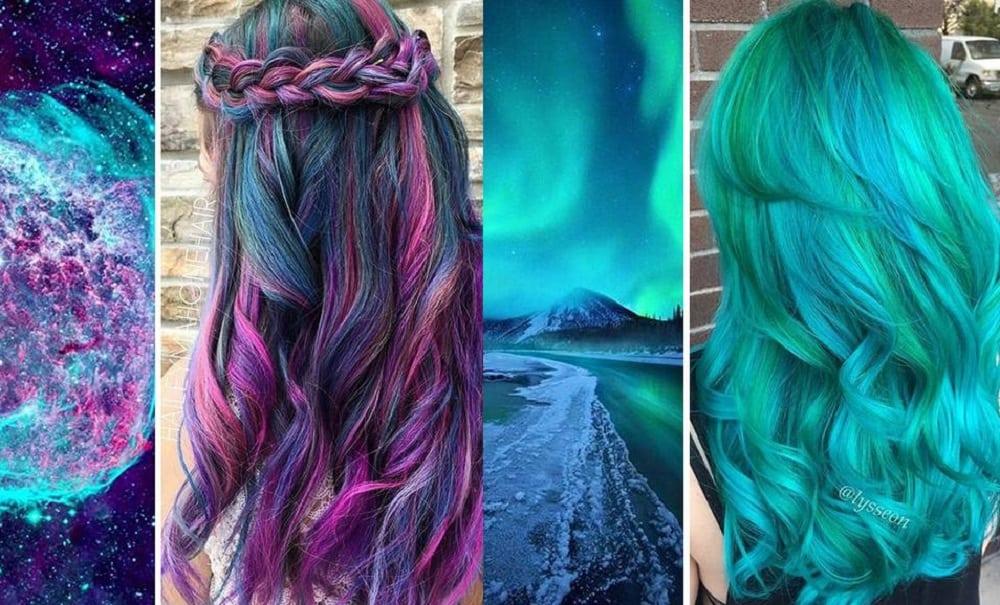 Galaxy hair: cabelos coloridos com inspiração no cosmos