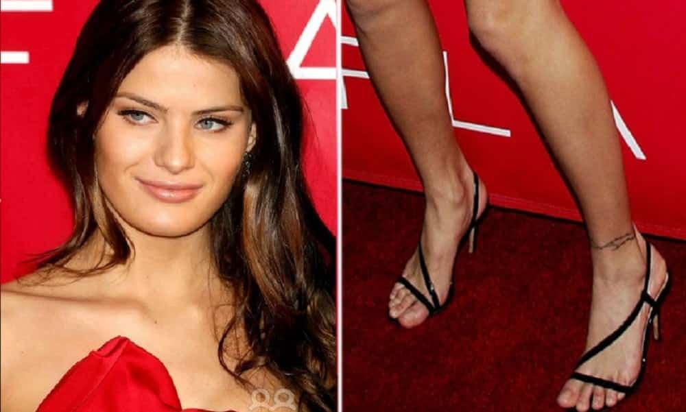 11 beldades que têm pés feios e você nunca percebeu