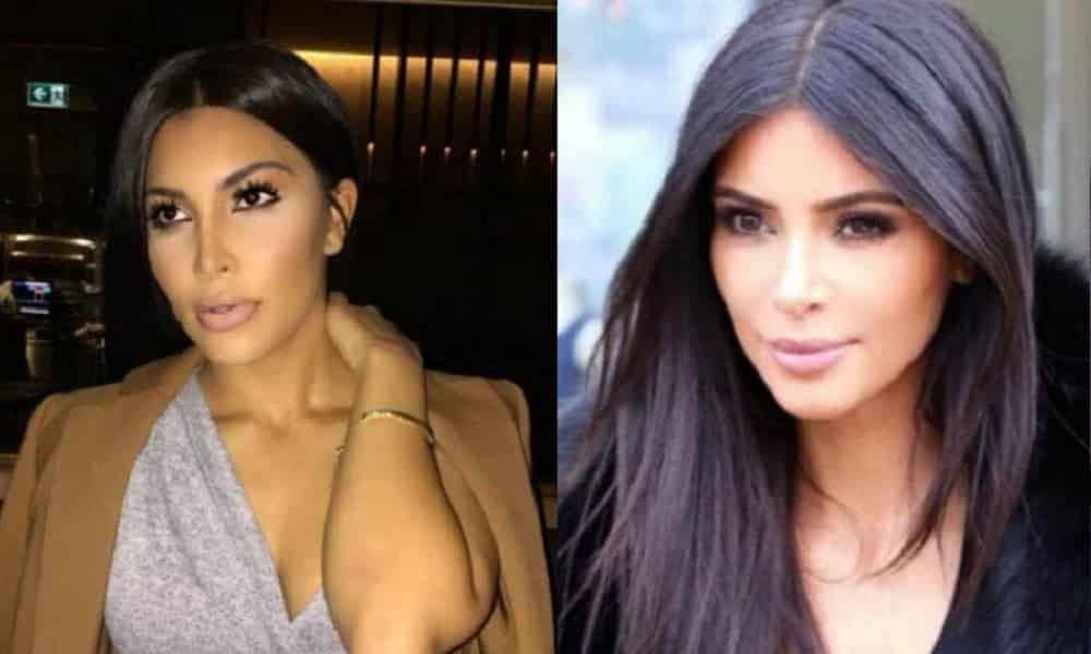 Conheça a sósia de Kim Kardashian que está abalando a internet