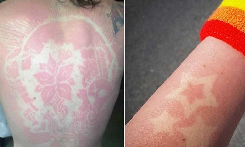 Tatuagem solar: conheça a nova moda em tattoo dos EUA