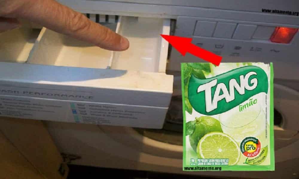 O que acontece se colocar suco em pó na máquina?