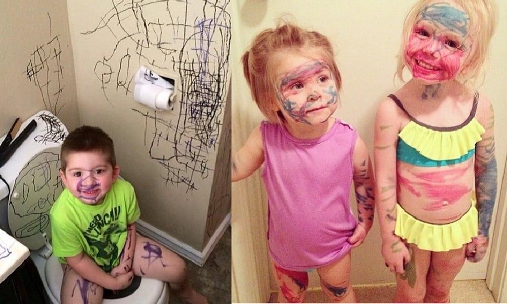20 provas de que ter filhos é difícil, mas é divertido