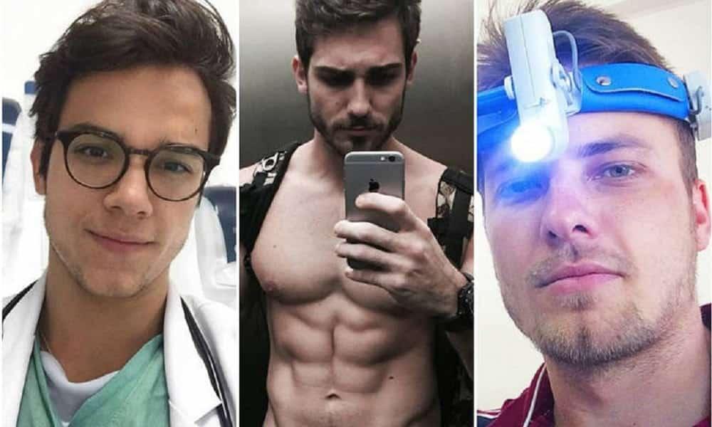 5 médicos gatos que estão destruindo corações na internet