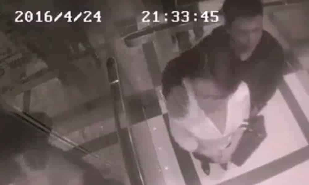 Chinesa reage a assédio em elevador e vídeo viraliza
