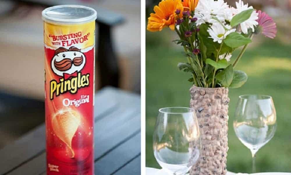 10 coisas lindas para fazer com latinhas de batatas chips