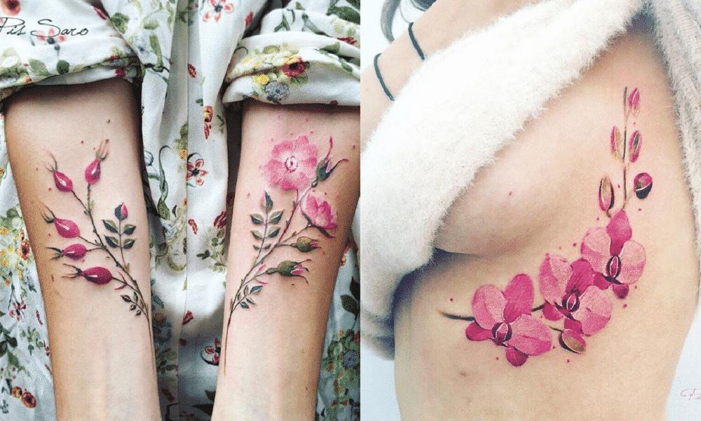 21 tatuagens inspiradas na natureza absolutamente perfeitas