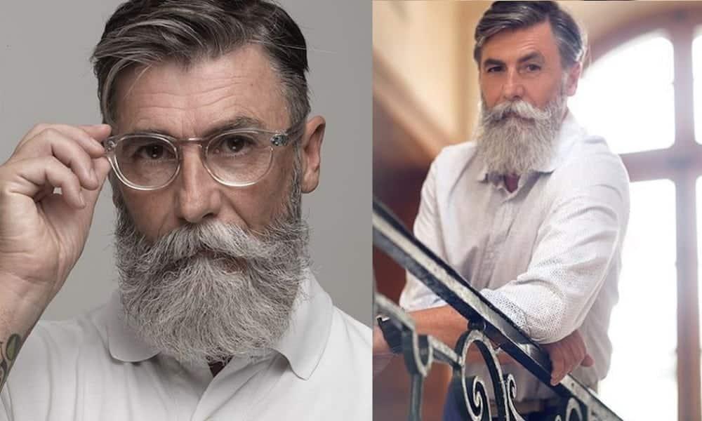 Conheça o homem se tornou modelo aos 60 anos de idade