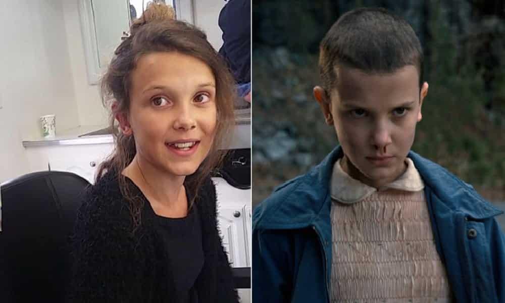 Stranger Things: o momento que atriz raspa a cabeça por Eleven