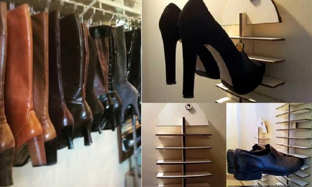 12 dicas para organizar os sapatos como você nunca pensou