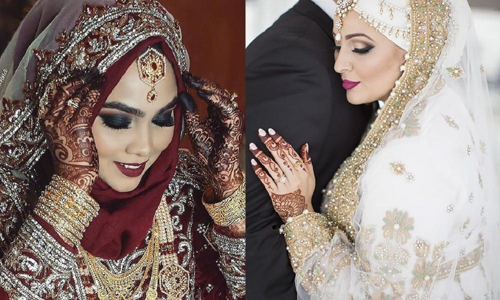 15 noivas que revelam a beleza dos casamentos muçulmanos