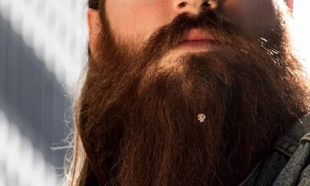 Marca lança coleção de joias para barba