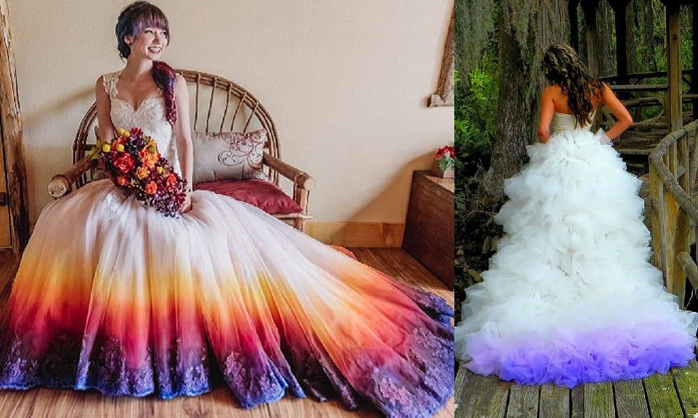 17 vestidos de noiva nada tradicionais que são divinos