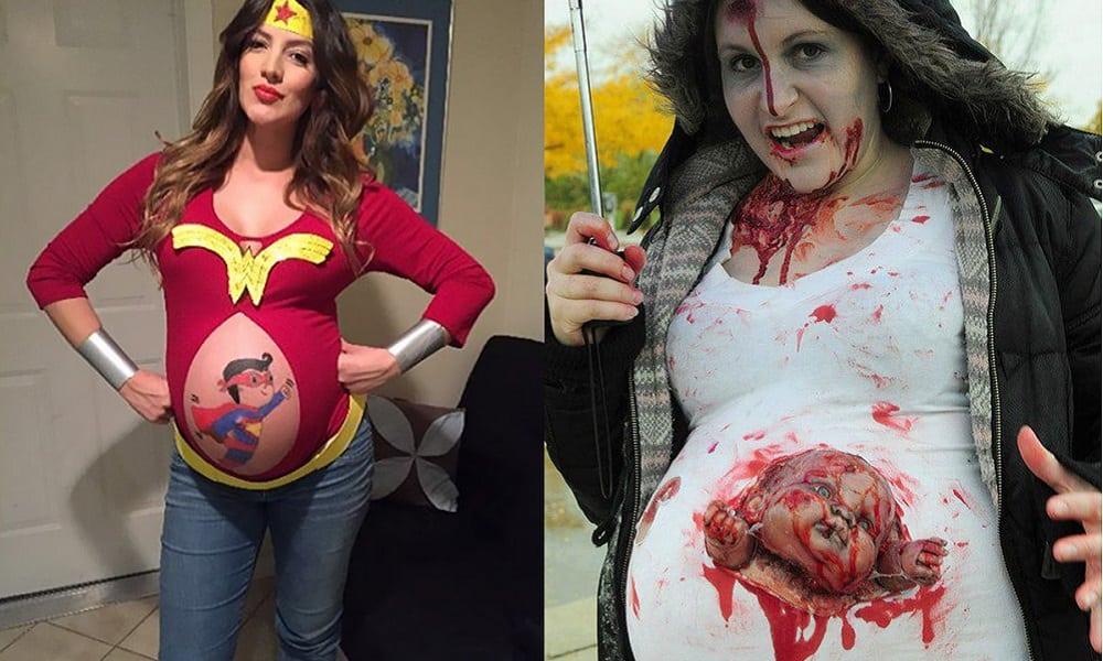 48 ideias de fantasias de Halloween para grávidas