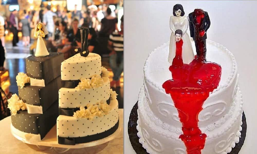 Você já ouviu falar em bolo de divórcio?