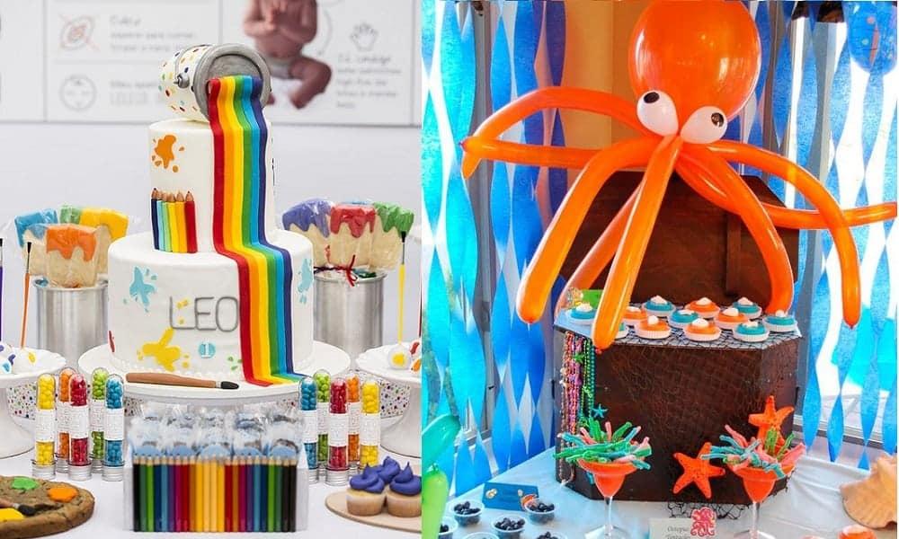 30 ideias de decoração de festas infantis para fugir do óbvio