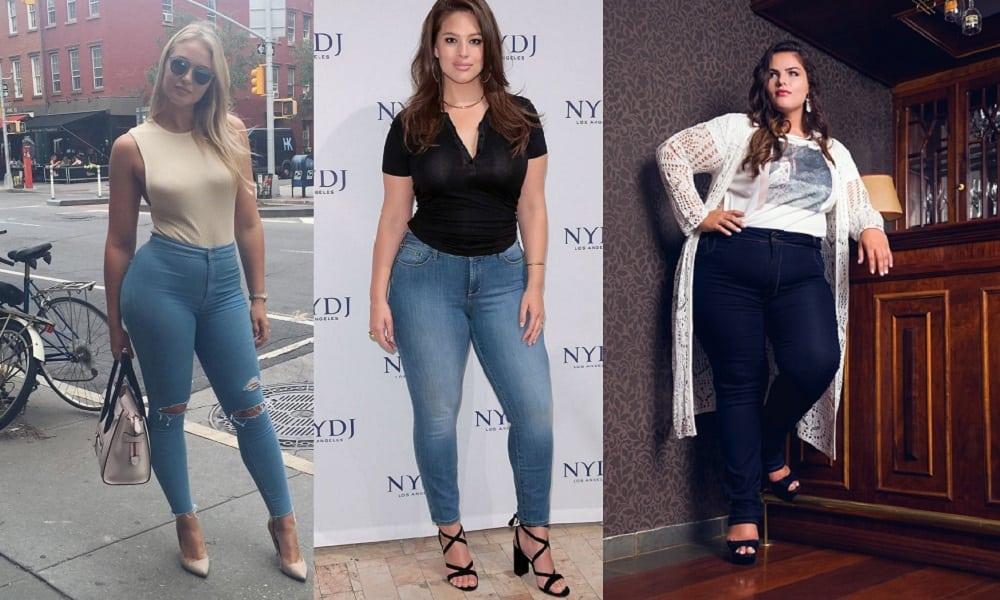 Como usar jeans e ficar mais bonita, independendo de seu manequim
