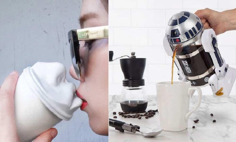 35 ideias de presentes para viciados em café