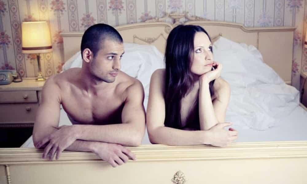 3 principais motivos por trás da falta de sexo em um casal