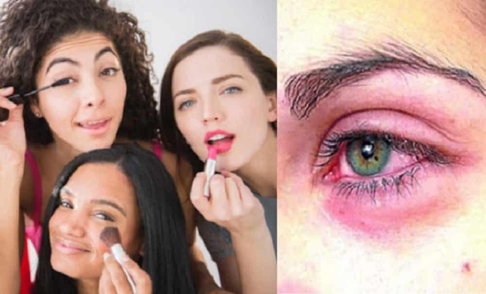 Doenças que você pode pegar por compartilhar maquiagem