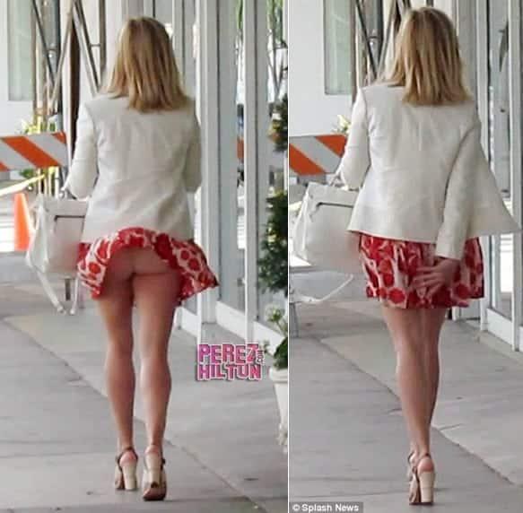 56d21e921 O problema de usar saia curta com calcinha fio dental se trata de uma  questão de higiene.