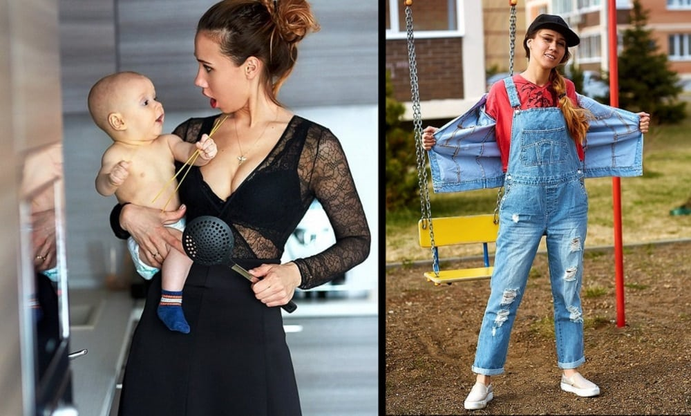 Ela deixou o marido escolher suas roupas por 1 semana. Veja o resultado