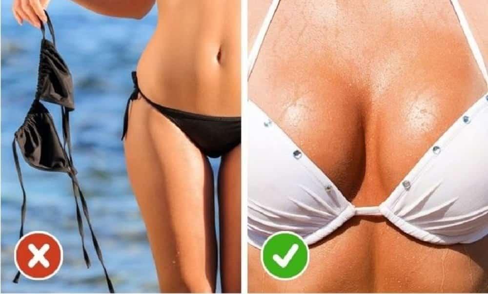 6 regras básicas para conservar os seios firmes por mais tempo