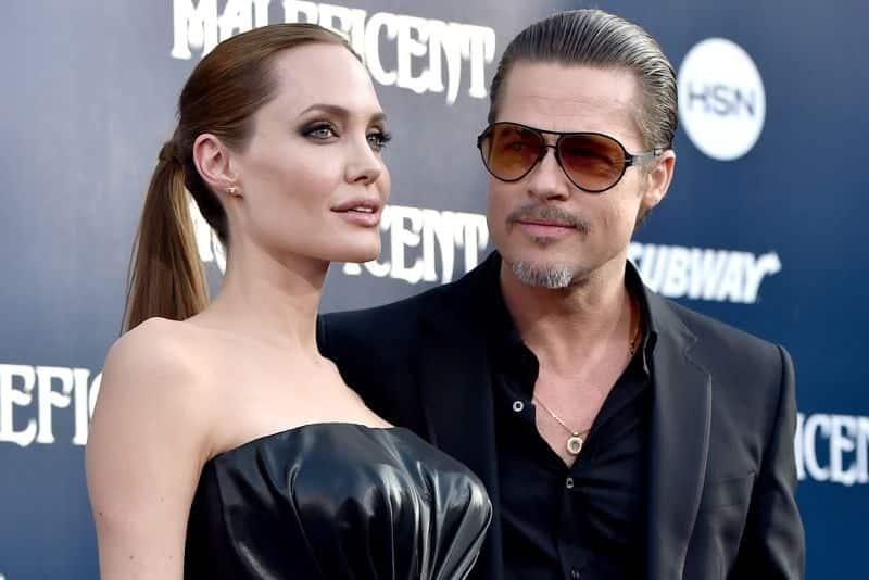 Brad Pitt é flagrado aos beijos com suporto novo affair