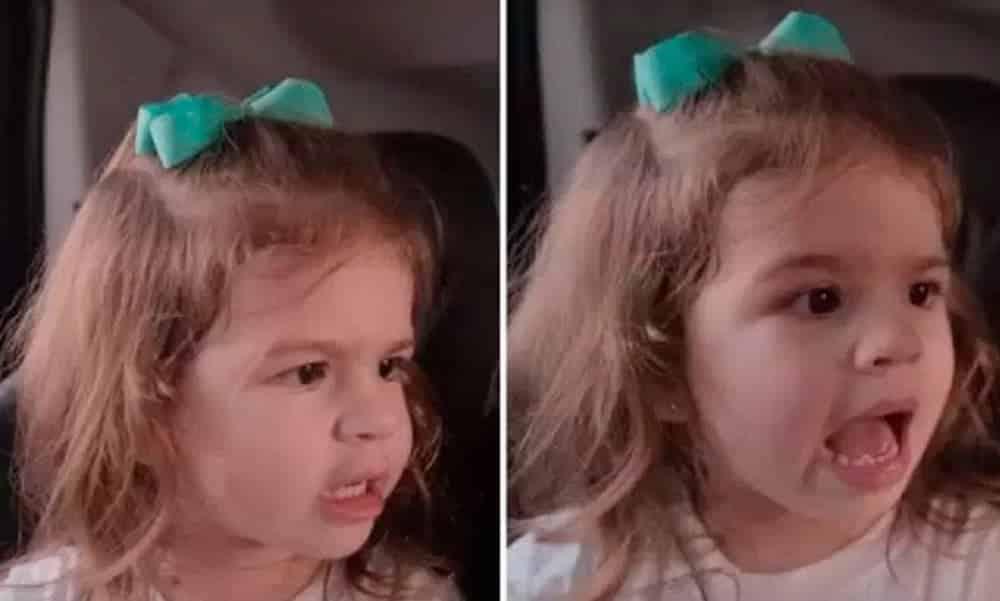 Filha de Mirella Santos perde paciência com boneca e vídeo faz sucesso na web
