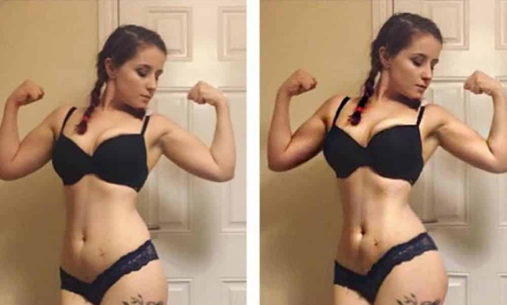Esta mulher mostrou como é fácil manipular o corpo na internet