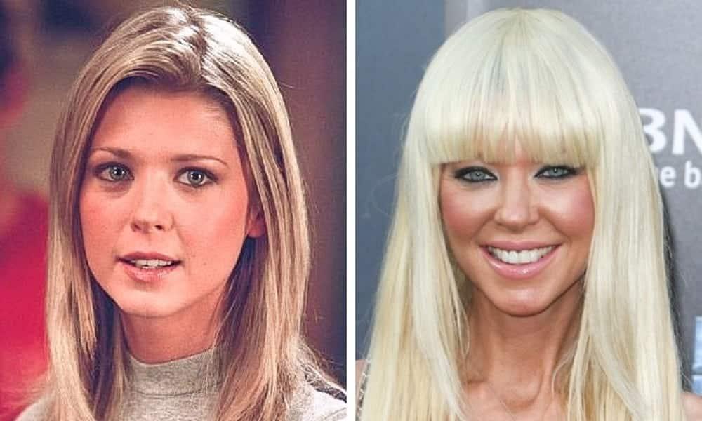 Antes e depois de algumas estrelas de Hollywood, depois de 20 anos