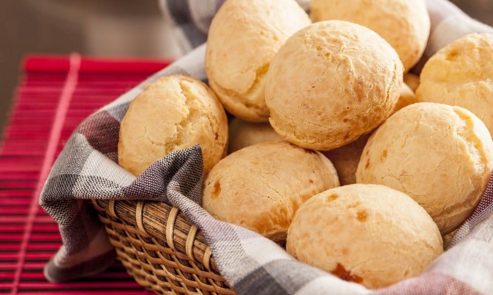 Receita do delicioso pão de queijo fit, sem leite, sem ovo, sem glúten