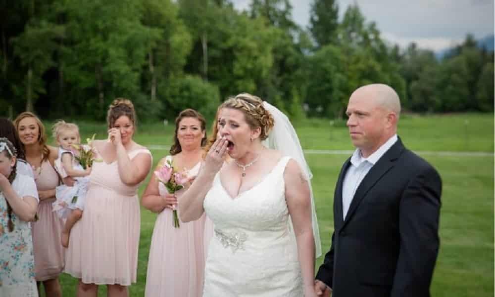 Esta mãe perdeu o filho e no dia do seu casamento ganhou o melhor presente da sua vida