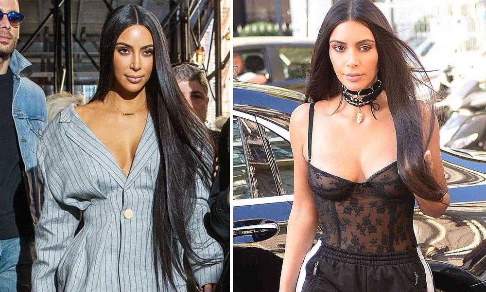 4 segredos do cabelo de Kim Kardashian que você não vai acreditar serem reais