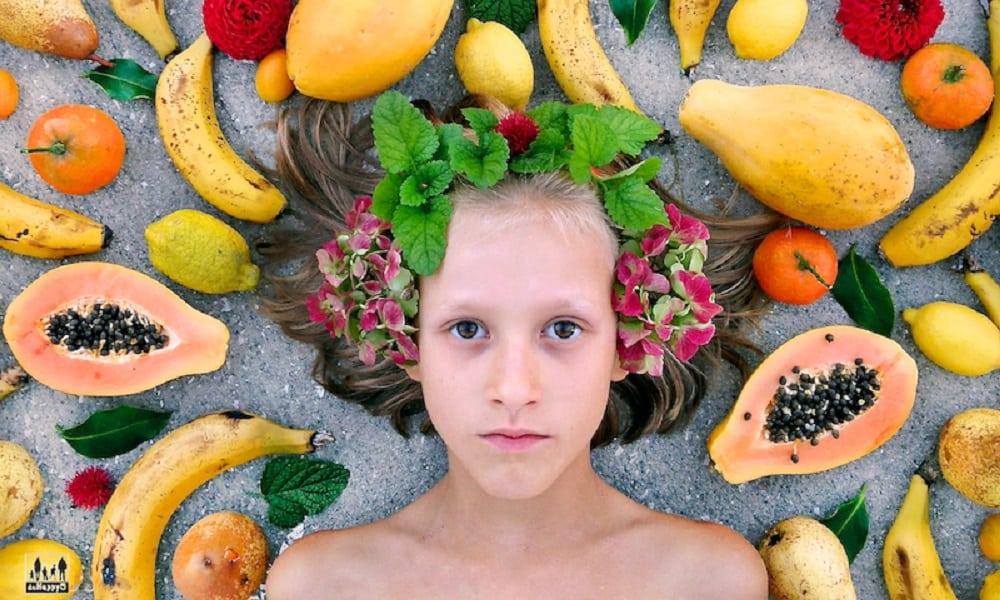 Mãe cura doença de pele da filha mudando a alimentação da família
