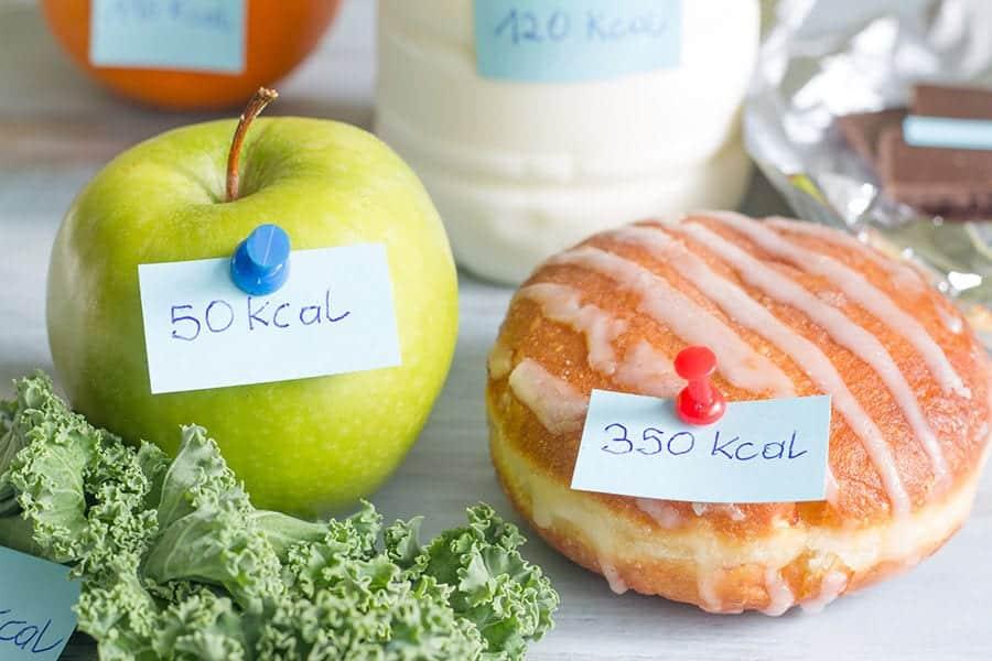 calculadora para calorias alimentos