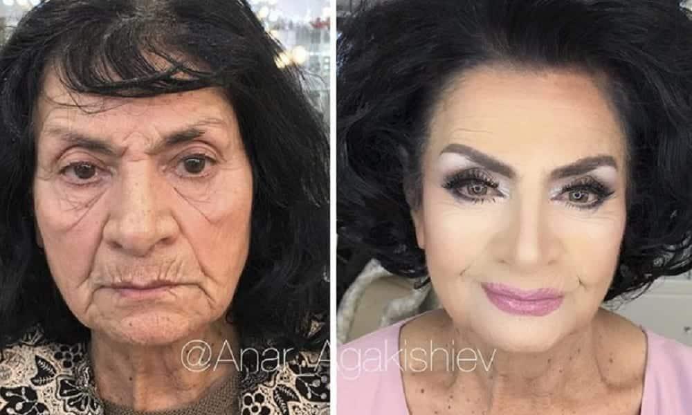 Depois da maquiagem: 12 mulheres que ficaram completamente diferentes