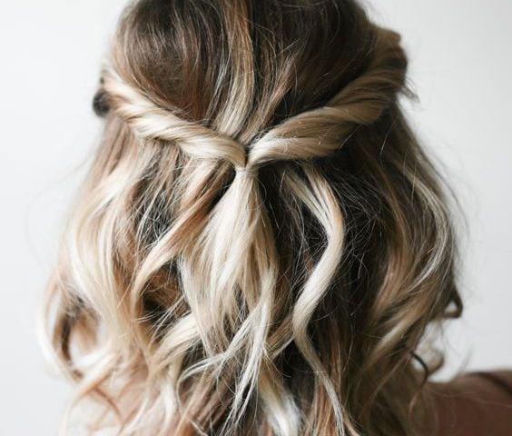 penteados curtos