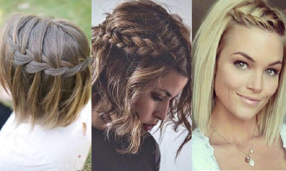 Penteados para cabelos curtos, 22 opções lindas e fáceis de fazer