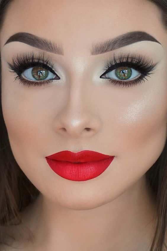 Super Principais tendências de maquiagem para noivas em 2018 LM55