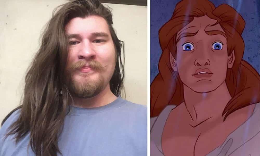 Homem fica igual ao príncipe da Disney após perder mais de 30 quilos