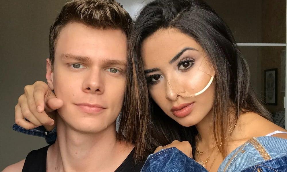 Namorado de Nara Almeida faz homenagem emocionante à memória da Youtuber