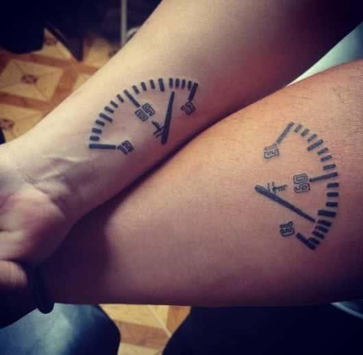 Tatuagem De Casal 70 Inspirações Para Eternizar O Amor Na Pele